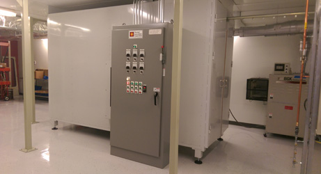 Inline Powder Curing Oven